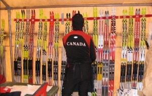 Ski wall